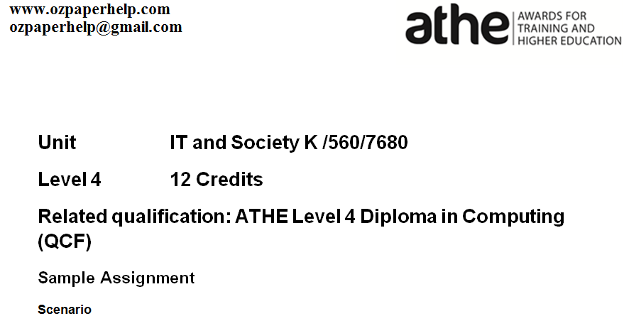 ATHE Level 4 Diploma in Computing