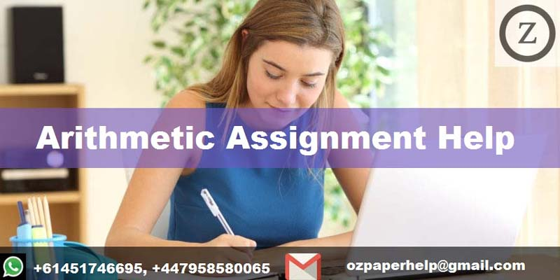Arithmetic Assignment Help