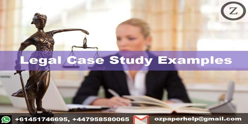 Legal Case Study Examples