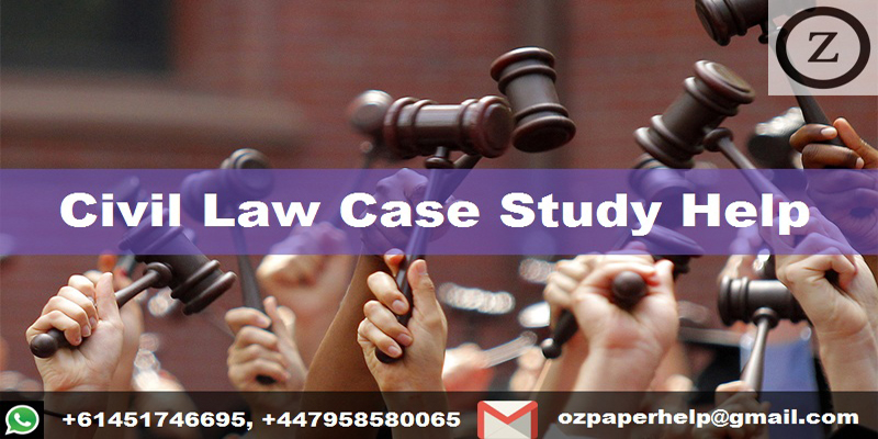 Civil Law Case Study Help