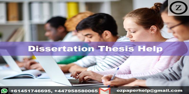 Dissertation Thesis Help