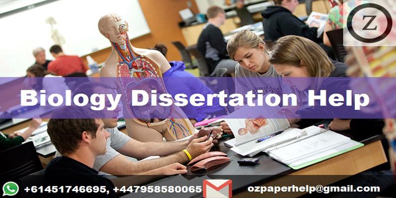 Biology Dissertation Help