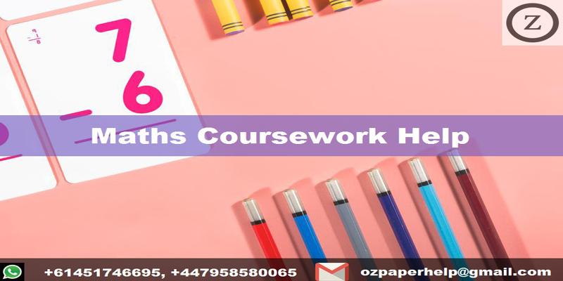 Maths Coursework Help