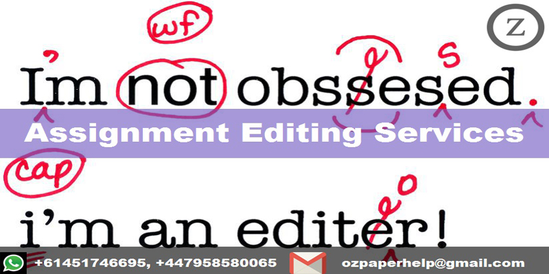 Assignment Editing Services