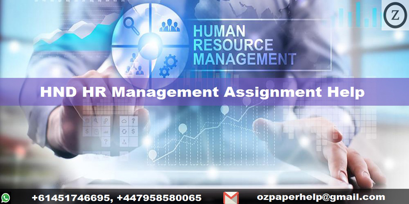 HND HR Management Assignment Help