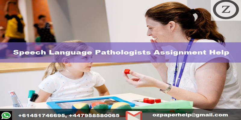 Speech Language Pathologists Assignment Help