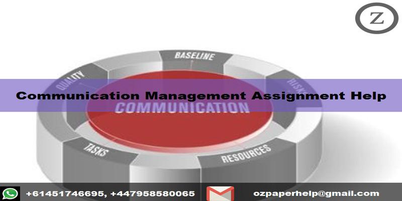 Communication Management Assignment Help