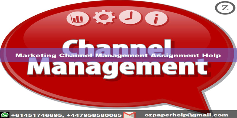 Marketing Channel Management Assignment Help
