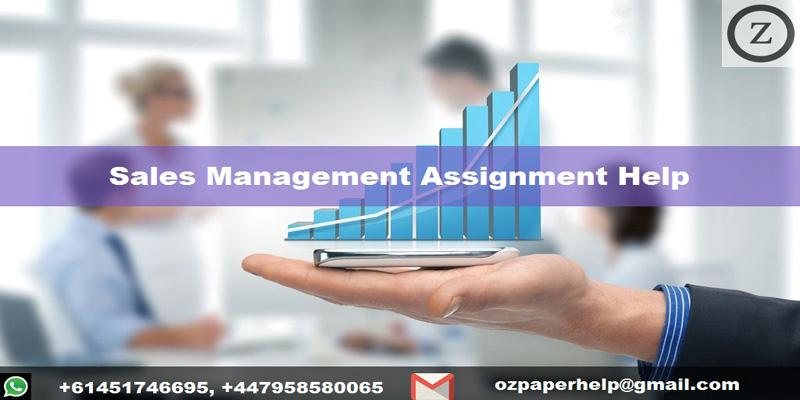 Sales Management Assignment Help