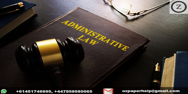 Administrative Law Assignment Help