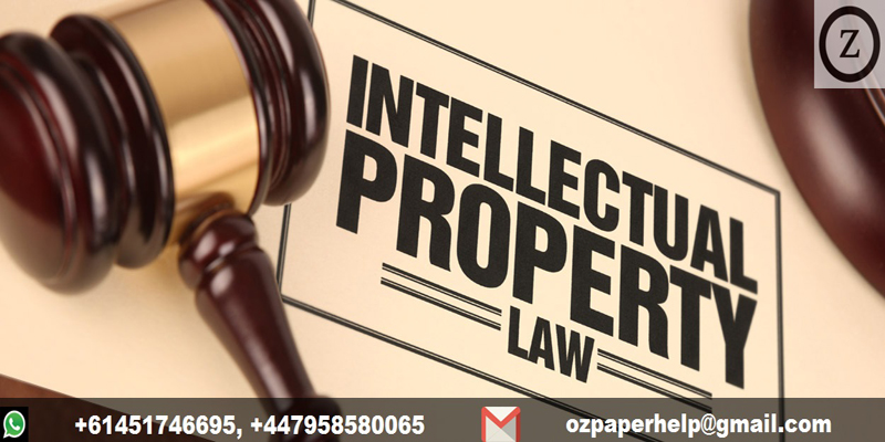 Intellectual Property Law Assignment Help