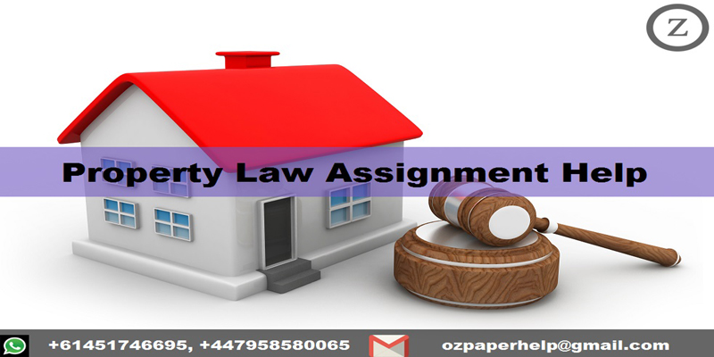 Property Law Assignment Help