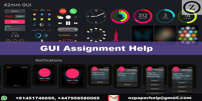 GUI Assignment Help