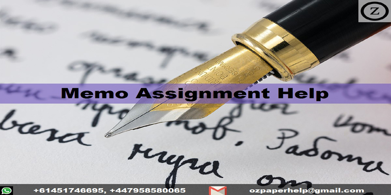 Memo Assignment Help