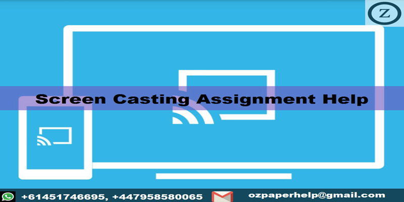 Screen Casting Assignment Help