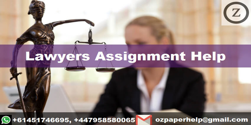 Lawyers Assignment Help