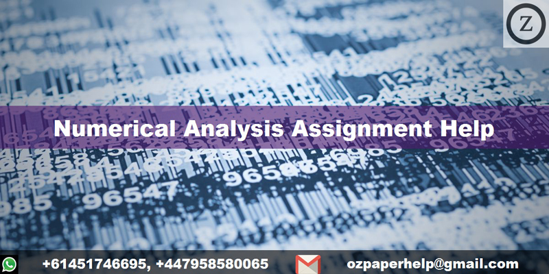 Numerical Analysis Assignment Help