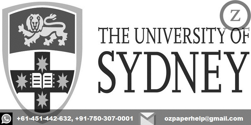 University of Sydney Assignment Help