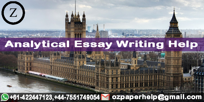 Analytical Essay Writing Help