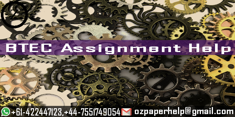 BTEC Assignment Help For UK