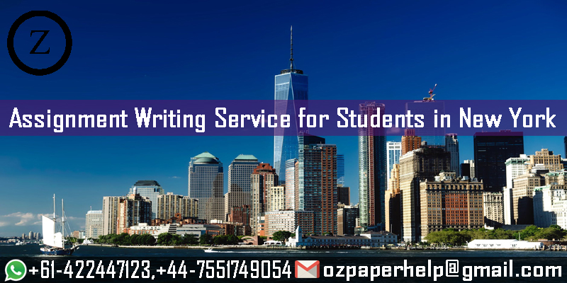 Assignment Writing Service for Students in New York