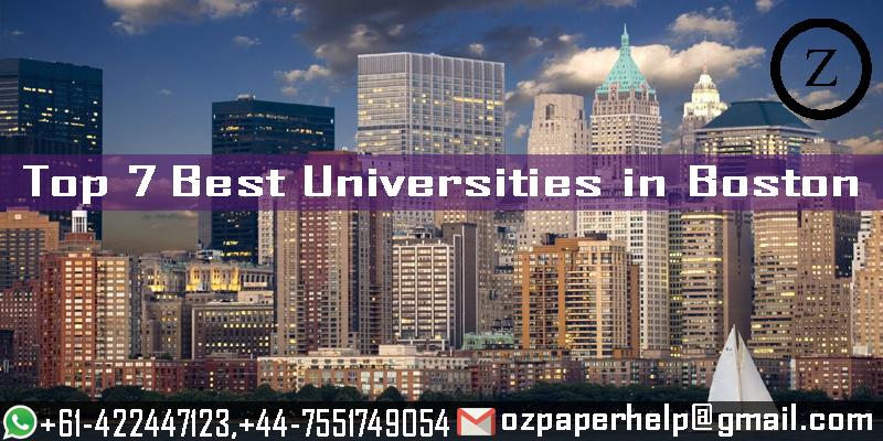 Top 7 Best Universities in Boston