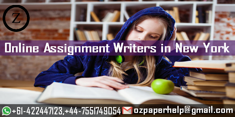 Online Assignment Writers in New York