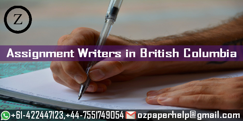 Assignment Writers in British Columbia