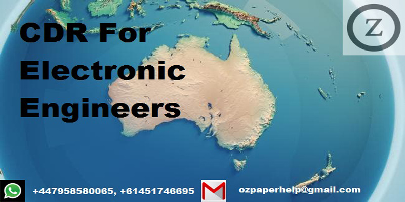 CDR For Electronic Engineers