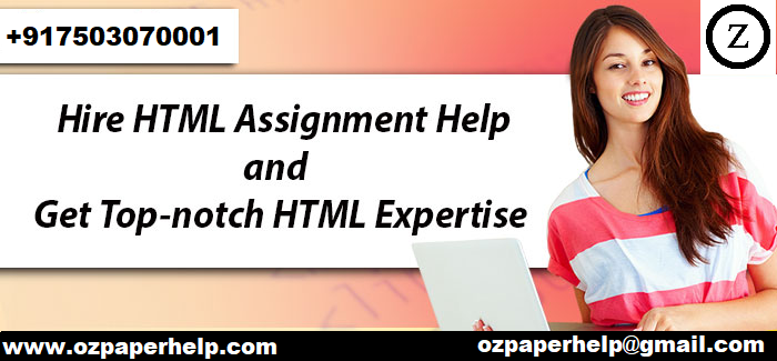 HTML Assignment Help UK