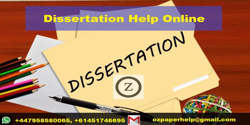 Dissertation Help Online