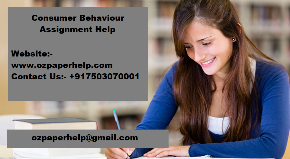 Consumer Behaviour Assignment Help