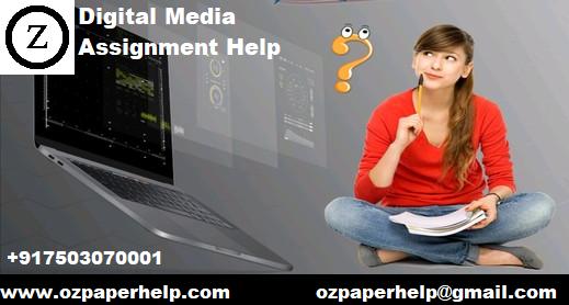 Digital Media Assignment Help
