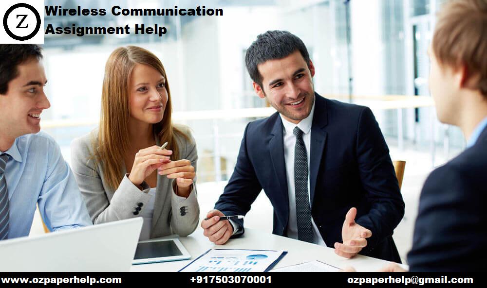 Wireless Communication Assignment Help