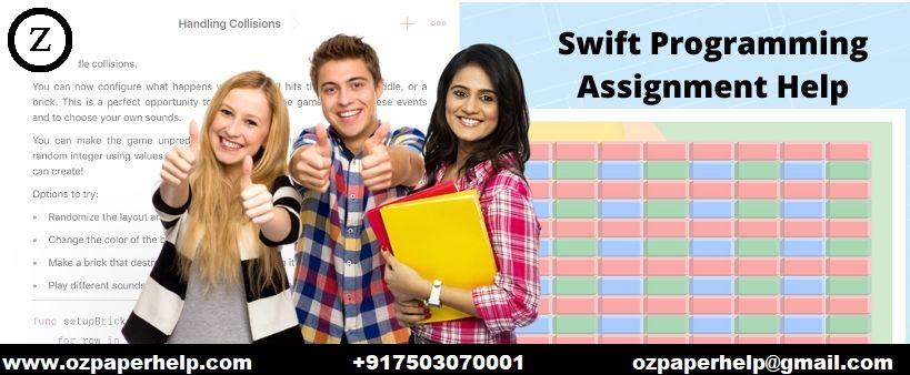 Swift Programming Assignment Help