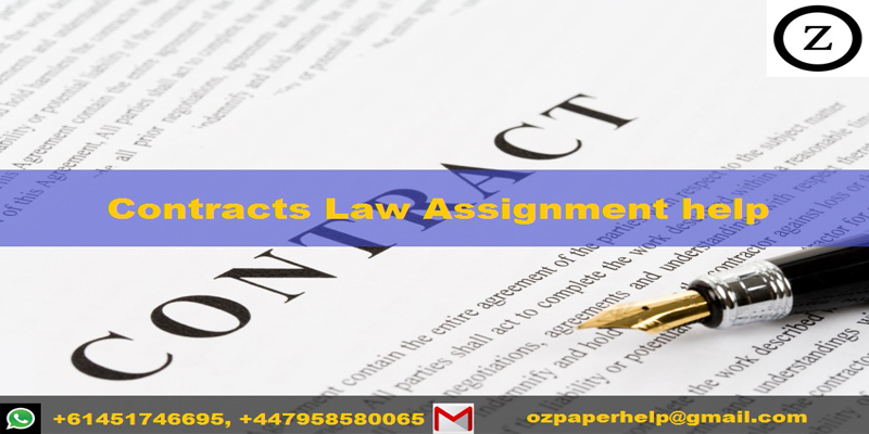 Contracts Law Assignment help