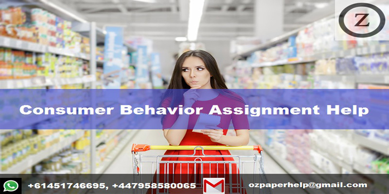 Consumer Behavior Assignment Help