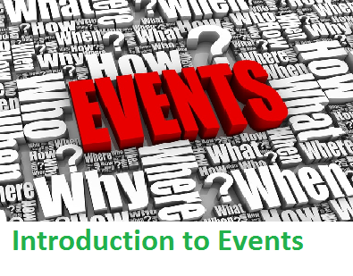 EVN101 Introduction to Events