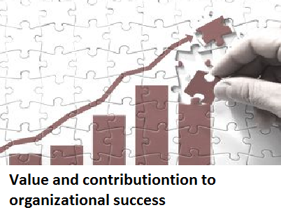 Value and contributiontion to organizational success