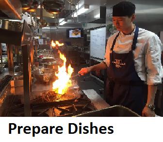 Prepare Dishes