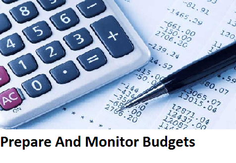 SITXFIN004 Prepare And Monitor Budgets