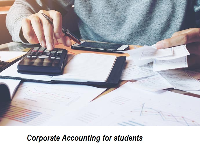 Corporate Accounting for students