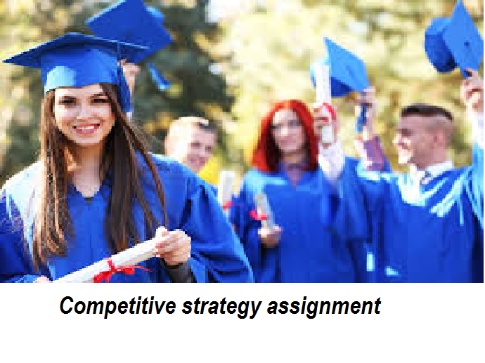 Competitive strategy assignment
