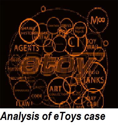 Analysis of eToys case