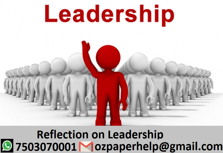 Reflection on leadership