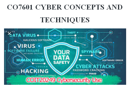 CO7601 CYBER CONCEPTS AND TECHNIQUES