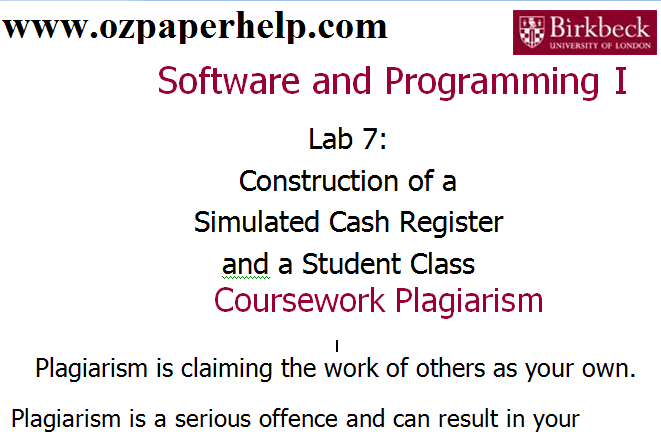 Software and Programming Assignment Help