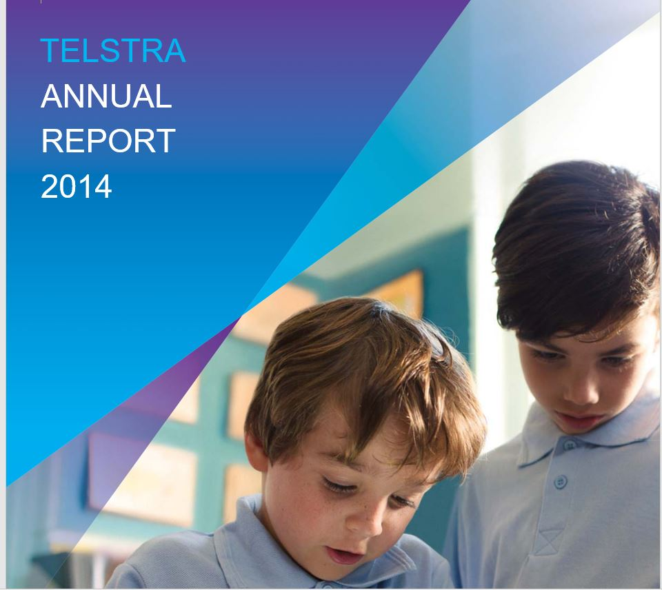Telstra Annual Report 2014