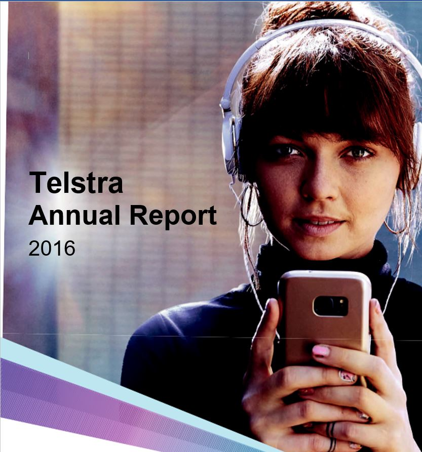 Telstra Annual Report 2016