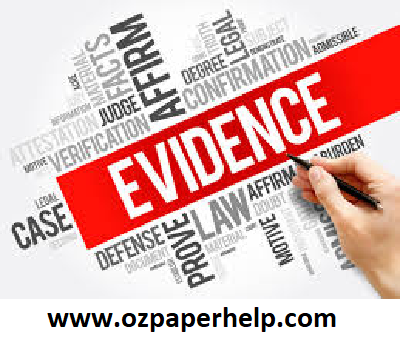BIL0086 EVIDENCE Assignment Help